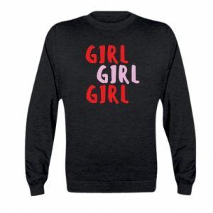 Bluza dziecięca Girl girl girl