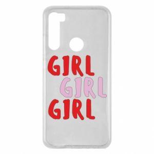 Etui na Xiaomi Redmi Note 8 Girl girl girl