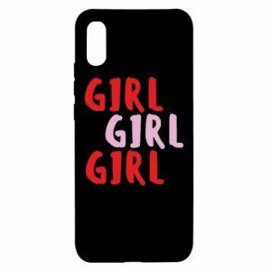 Etui na Xiaomi Redmi 9a Girl girl girl