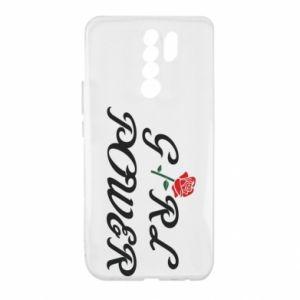 Etui na Xiaomi Redmi 9 Girl power rose