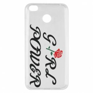 Etui na Xiaomi Redmi 4X Girl power rose