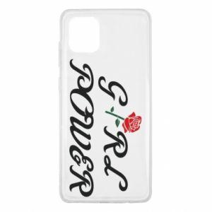 Etui na Samsung Note 10 Lite Girl power rose