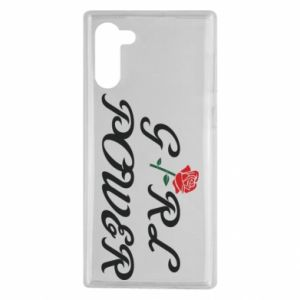 Etui na Samsung Note 10 Girl power rose
