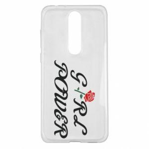 Etui na Nokia 5.1 Plus Girl power rose