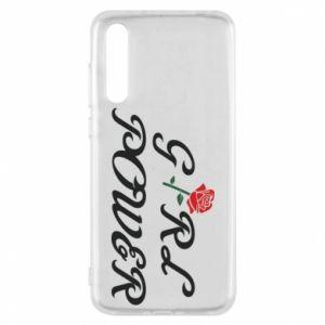 Etui na Huawei P20 Pro Girl power rose