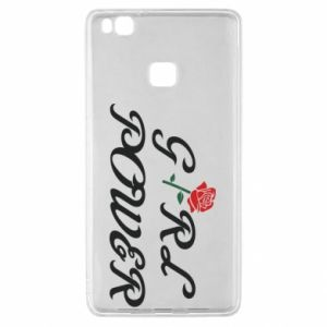 Etui na Huawei P9 Lite Girl power rose