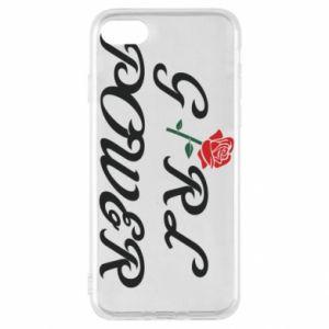 Etui na iPhone SE 2020 Girl power rose