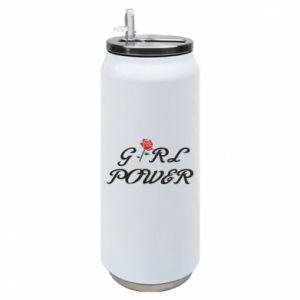 Puszka termiczna Girl power rose