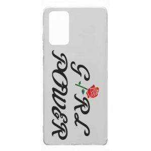 Etui na Samsung Note 20 Girl power rose
