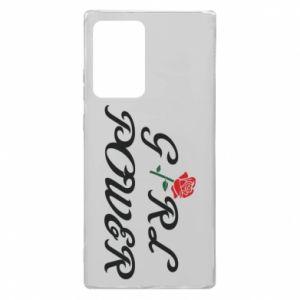 Etui na Samsung Note 20 Ultra Girl power rose