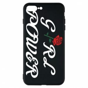 Etui do iPhone 7 Plus Girl power rose