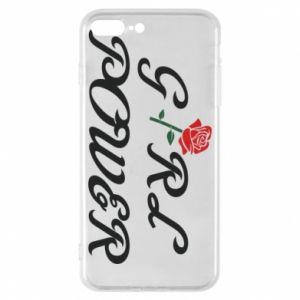 Etui na iPhone 8 Plus Girl power rose