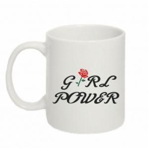 Kubek 330ml Girl power rose