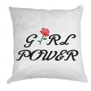 Poduszka Girl power rose