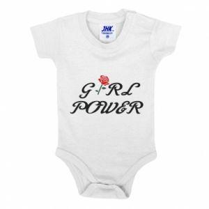Body dziecięce Girl power rose
