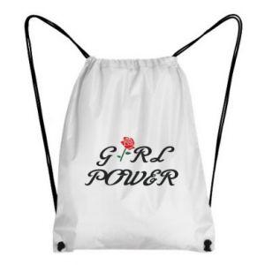 Plecak-worek Girl power rose