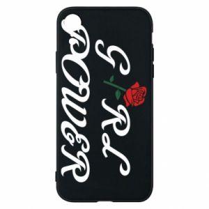 Etui na iPhone XR Girl power rose