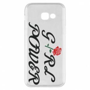 Etui na Samsung A5 2017 Girl power rose