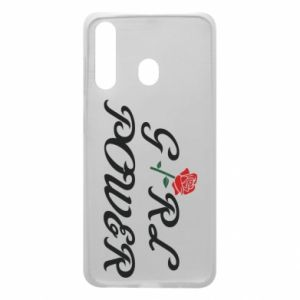 Phone case for Samsung A60 Girl power rose