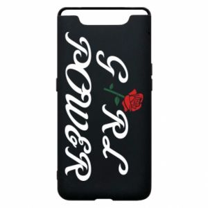 Phone case for Samsung A80 Girl power rose