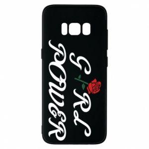 Etui na Samsung S8 Girl power rose