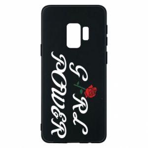 Etui na Samsung S9 Girl power rose
