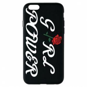 Etui na iPhone 6/6S Girl power rose