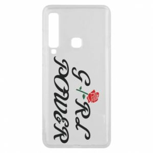 Phone case for Samsung A9 2018 Girl power rose