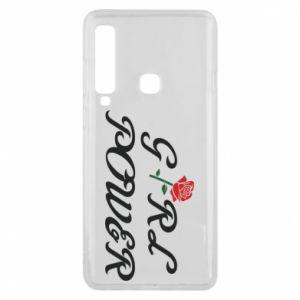 Etui na Samsung A9 2018 Girl power rose