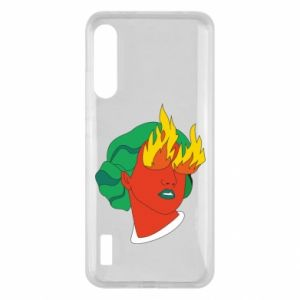 Etui na Xiaomi Mi A3 Girl With Fire
