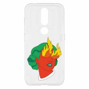 Etui na Nokia 4.2 Girl With Fire