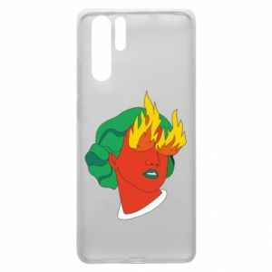 Etui na Huawei P30 Pro Girl With Fire