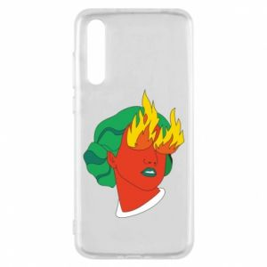 Etui na Huawei P20 Pro Girl With Fire