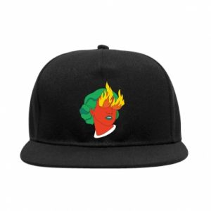 SnapBack Girl With Fire