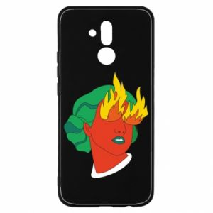 Etui na Huawei Mate 20 Lite Girl With Fire