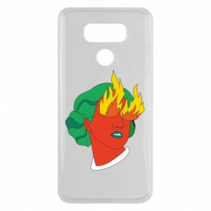 Etui na LG G6 Girl With Fire