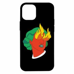 Etui na iPhone 12 Mini Girl With Fire