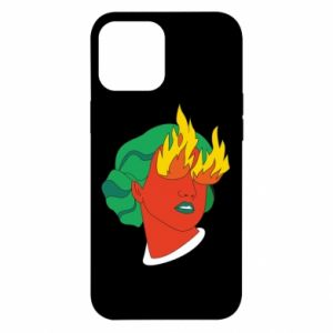 Etui na iPhone 12 Pro Max Girl With Fire