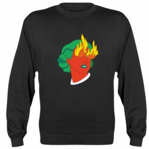 Bluza Girl With Fire