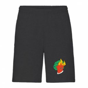 Men's shorts Girl With Fire