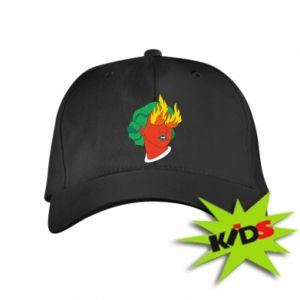Kids' cap Girl With Fire