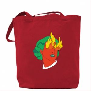 Bag Girl With Fire