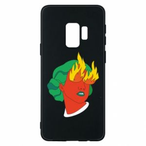 Phone case for Samsung S9 Girl With Fire