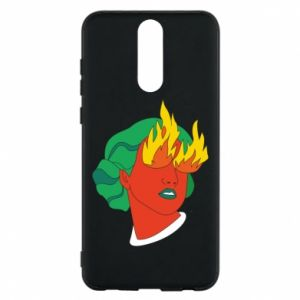 Phone case for Huawei Mate 10 Lite Girl With Fire
