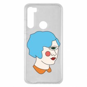 Etui na Xiaomi Redmi Note 8 Girl with one eye
