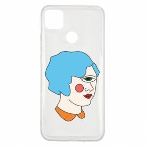 Etui na Xiaomi Redmi 9c Girl with one eye