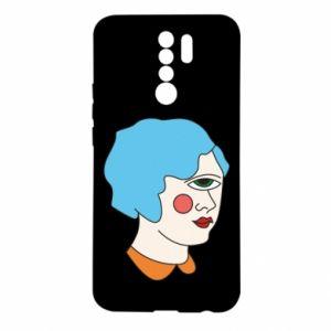 Etui na Xiaomi Redmi 9 Girl with one eye