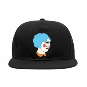 SnapBack Girl with one eye - PrintSalon