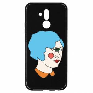 Etui na Huawei Mate 20 Lite Girl with one eye