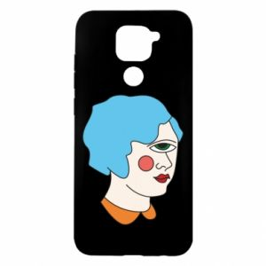 Etui na Xiaomi Redmi Note 9/Redmi 10X Girl with one eye